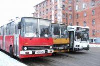 Вместительные автобусы.