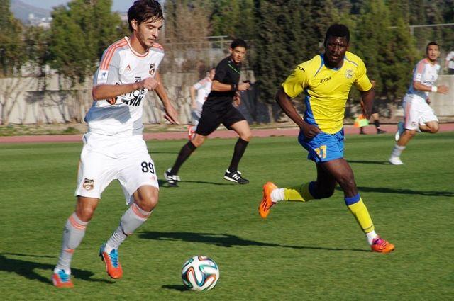 Футболисты «Урала» одержали победу на кипрском сборе
