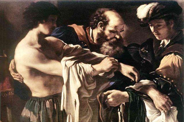 Возвращение блудного сына. Франческо Гверчино. 1619 год.