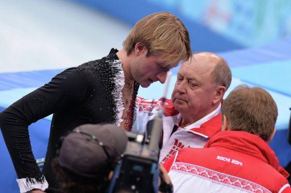 Алексей Мишин долгие годы был бессменным тренером Плющенко.