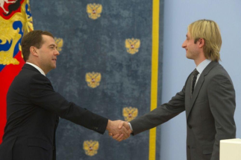 В 2007 году Плющенко был награжден Орденом Почета.