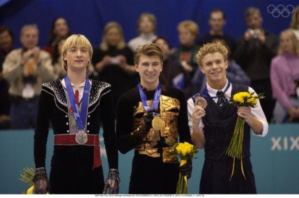 На Олимпиаде 2002 года Плющенко уступил золотую медаль Алексею Ягудину.
