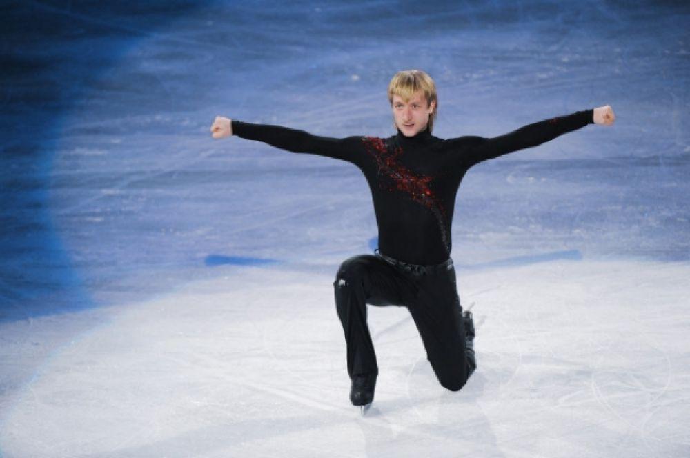Свою спортивную карьеру Евгений Плющенко начал в 4 года.