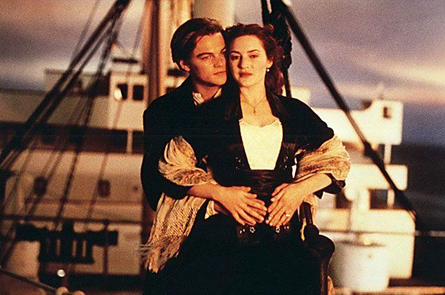 Леонардо ДиКаприо и Кейт Уинслет. «Титаник», 1997 год.