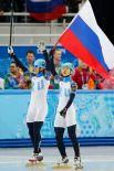 15 февраля российские шорт-трекисты Виктор Ан (справа) и Владимир Григорьев завоевали «золото» и «серебро» на дистанции 1000 м.