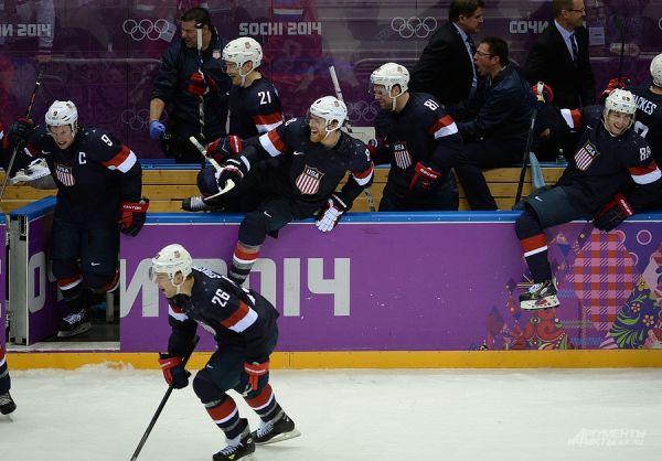 Сборная США с огромной долей вероятности займет первое место в группе и выйдет напрямую в четвертьфинал олимпийского хоккейного турнира.