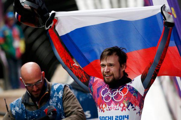 Позже в тот же день четвёртую золотую медаль сборной России принёс Александр Третьяков. Эта победа стала первой для нашей страны в скелетоне.