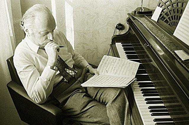 Композитор Оскар Фельцман. 1973 год.