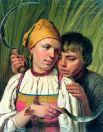 Картины, навеянные образами крестьян, получались у Венецианова яркими, насыщенными. Они изображали жизнь в движении. Палитра этих работ разительно отличается от тональности статичных портретов вельмож.