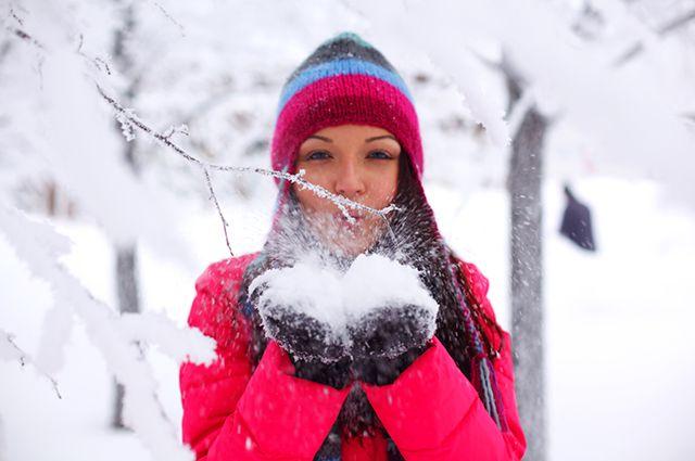 В Челябинске во вторник будет теплая и снежная погода