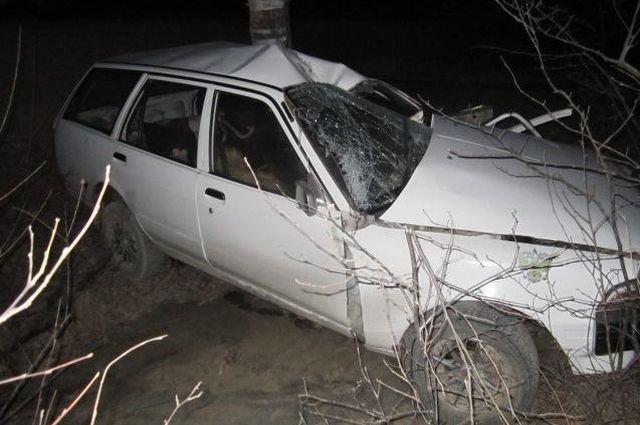 Авария в Партизанском районе Приморья