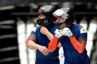 Российские спортсмены выиграли все четыре заезда в «двойках».