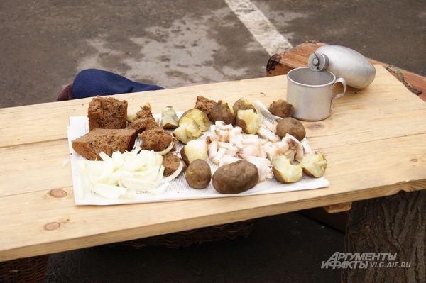 Военные делликатесы: картошка с солью