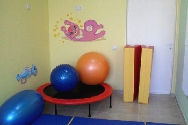 В детской областной больнице открылся кабинет пожизненной гимнастики