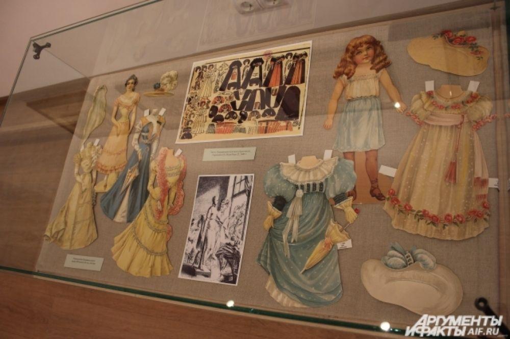 Репродукция бумажных кукол. к. 19 - нач. 20 вв. Англия.