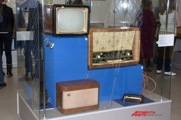 Радиовыставка в Краеведческом музее.Радиовыставка в Краеведческом музее.