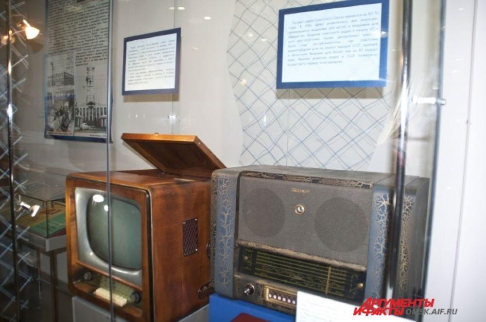 Радиовыставка в Краеведческом музее.