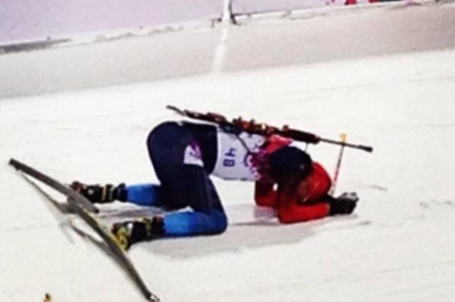 Биатлонист Антон Шипулин занял 11 место в масс-старте на Олимпиаде