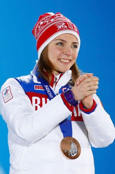 Елена Никитина – бронзовая медалистка в скелетоне.