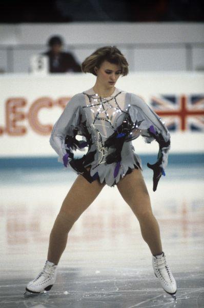 Наталья Лебедева, попавшая в сборную после победы на чемпионате СССР, дважды становилась второй в европейском первенстве.