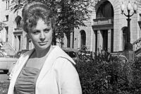 Советская киноактриса Алла Ларионова. 1963 год.