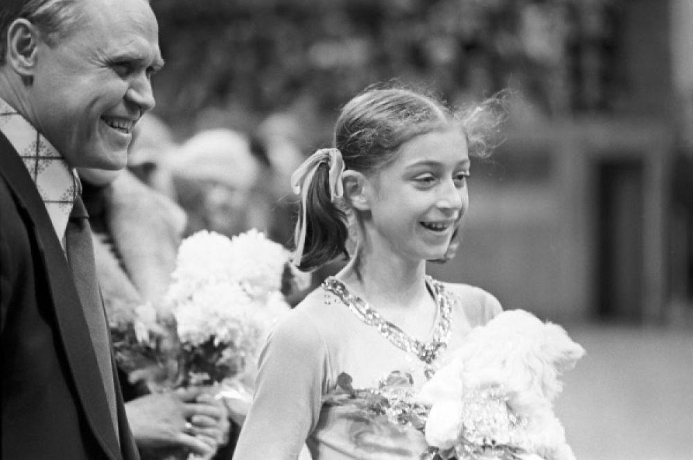 Елена Водорезова стала первой советской фигуристкой-одиночницей, которая сумела взойти на пьедестал почета в международных соревнованиях.