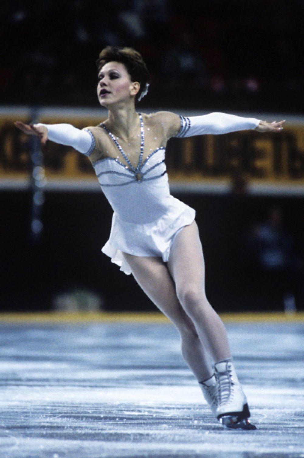 Кира Иванова была первой отечественной фигуристкой, завоевавшей медаль на Олимпийских играх - это была «бронза» на Играх в Сараево.