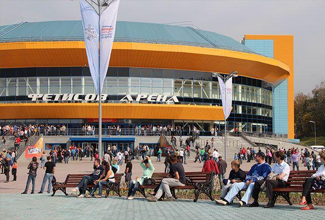 «Фетисов Арена» во Владивостоке.