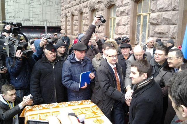 Свердловчане собираются поддержать президента Украины Виктора Януковича