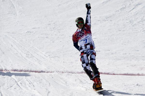 Чуть позже в тот же день российский сноубордист Виктор Уайлд, супруг Алены Заварзиной, стал победителем соревнований в параллельном гигантском слаломе.
