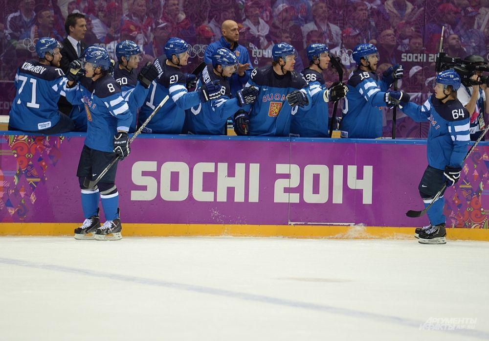 Сборная Финляндии вышла в полуфинал, где в пятницу, 21 февраля, сыграет с командой Швеции.