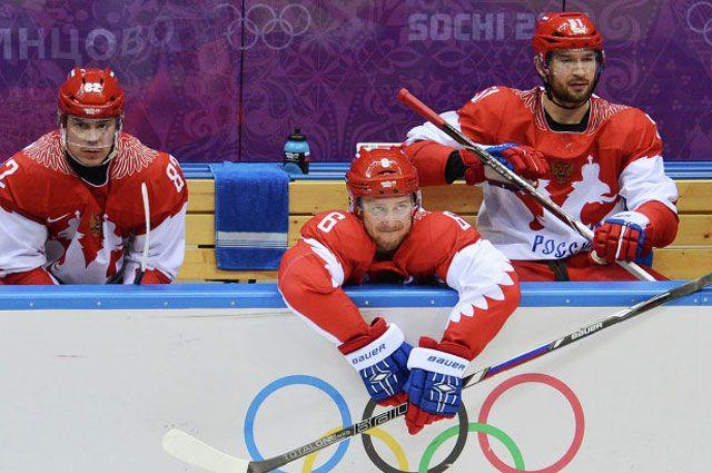 Слева направо: Евгений Медведев, Никита Никитин и Федор Тютин