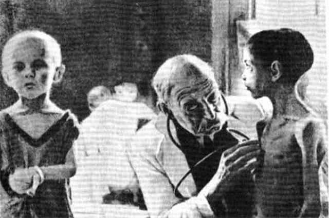 Голодные дети ленинграда фото
