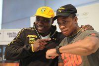 Ямайская команда по бобслею. Уинстон Уоттс и Марвин Диксон.
