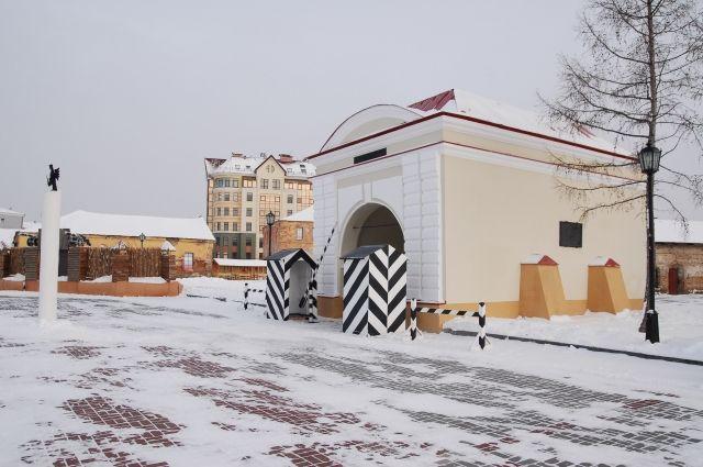 Тарские ворота в Омской крепости.