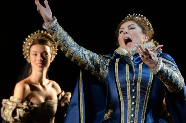 Оперная певица Мария Гулегина.