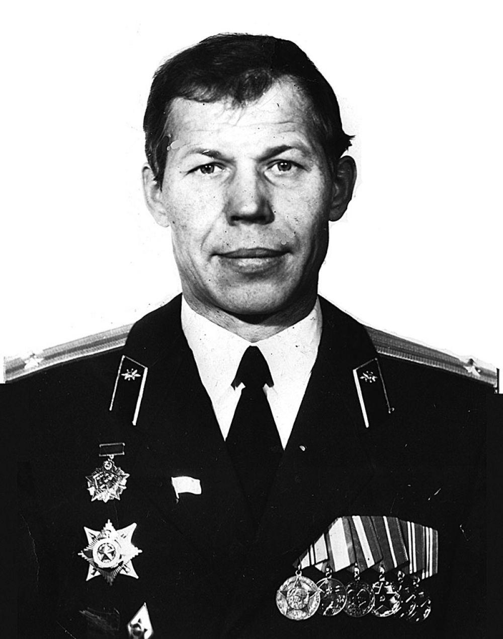 Сергей Петров на службе