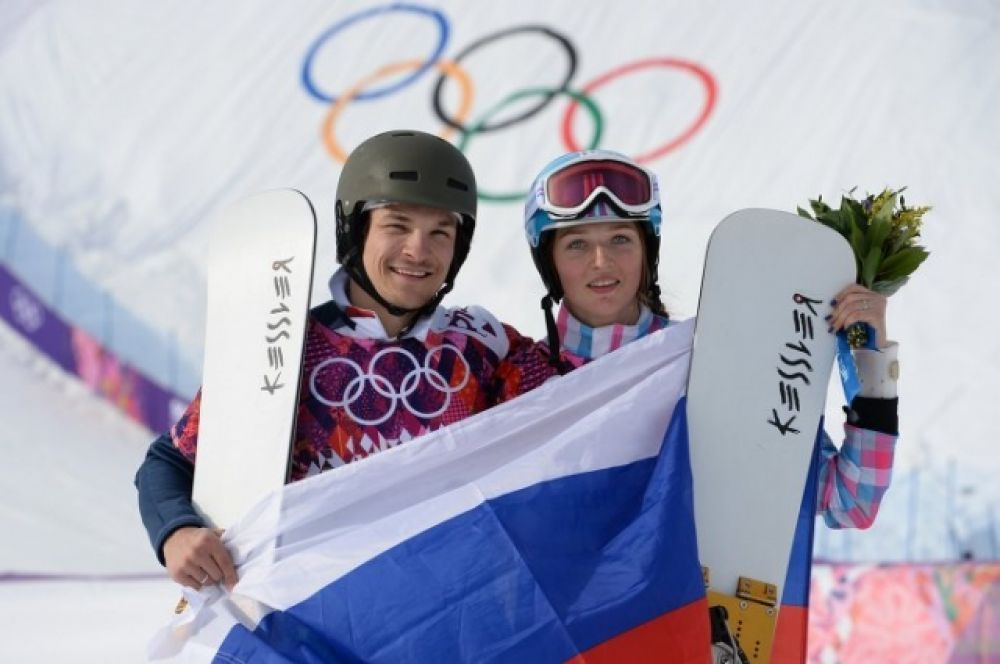 Две медали - на двоих.