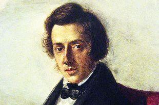 Фрагмент портрета Фредерика Шопена 1835 года. Художник Maria Wodzińska.