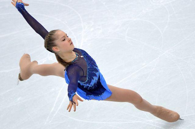Юлия Липницкая «сорвала» Сальхов в произвольной программе на Олимпиаде