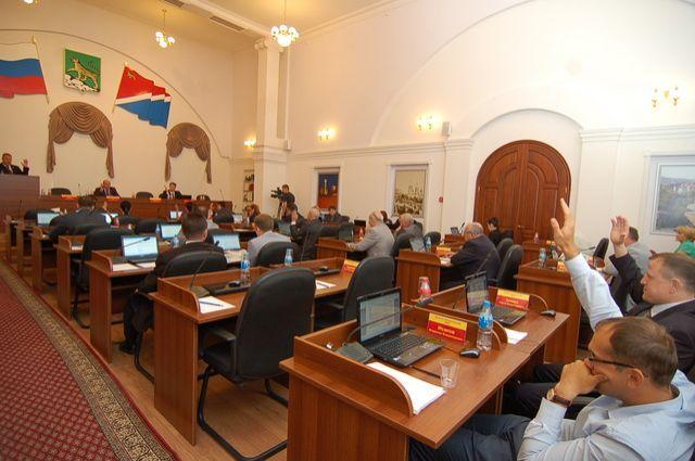 Заседание ДУМЫ города Владивостока.