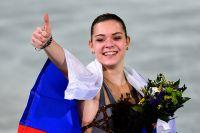Олимпийская чемпионка в женском одиночном катании Аделина Сотникова.