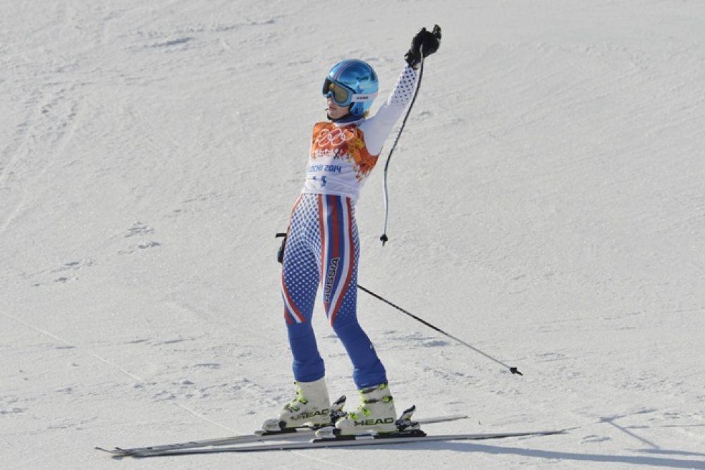 Девушка заняла 14-е место.
