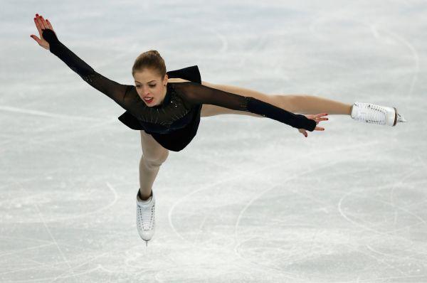 Затем выступила итальянка Каролина Костнер, перебившая результат Липницкой.