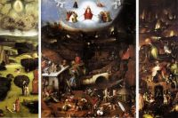 Триптих Иеронима Босха «Страшный суд» (1504)