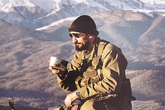 Граф в горах Чечни.