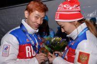 Виктор Ан и его невеста Нари.