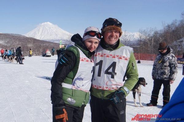 Супруги Анастасия и Андрей Семашкины.