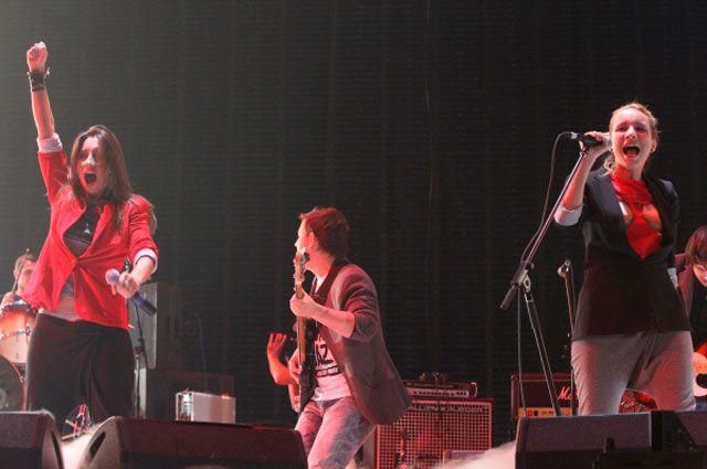 Группа «Мураками» на церемонии вручения наград «Чартова Дюжина. Топ 13». 2011 год.