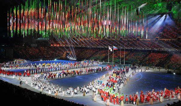 В нём были представлены все 88 сборных, принявших участие в состязаниях.